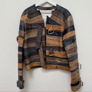 Maison Martin Margiela x H&M Leather Belt Jacket